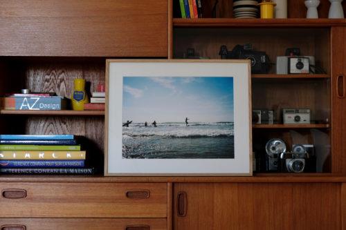 sur art print - surf - tirage argentique