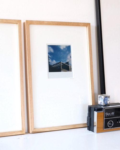 maison d'art - photographie d'art - tirage argentique - Polaroïd encadré