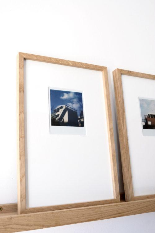 Galerie d'art - photographie d'art - tirage argentique - Polaroïd encadré